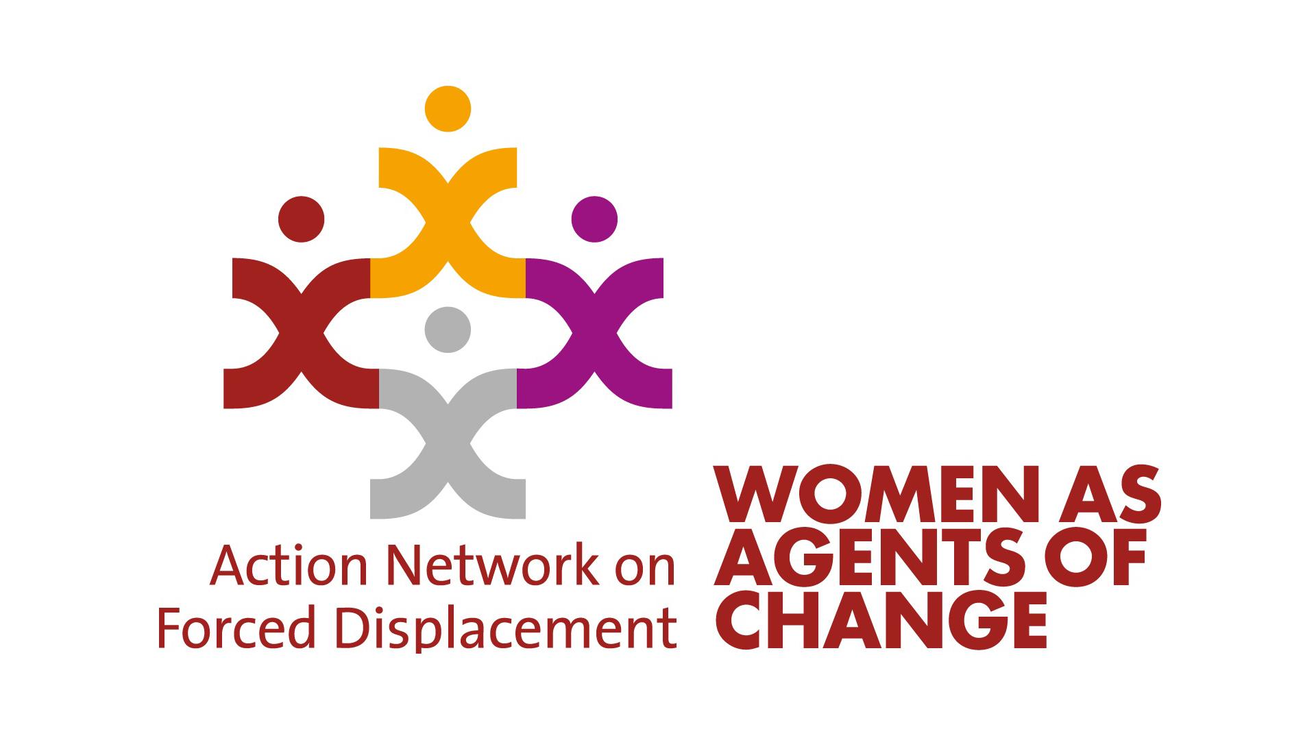 Logo: Aktionsnetzwerk Frauen auf der Flucht
