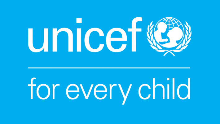 Logo des Kinderhilfswerks der Vereinten Nationen (UNICEF)