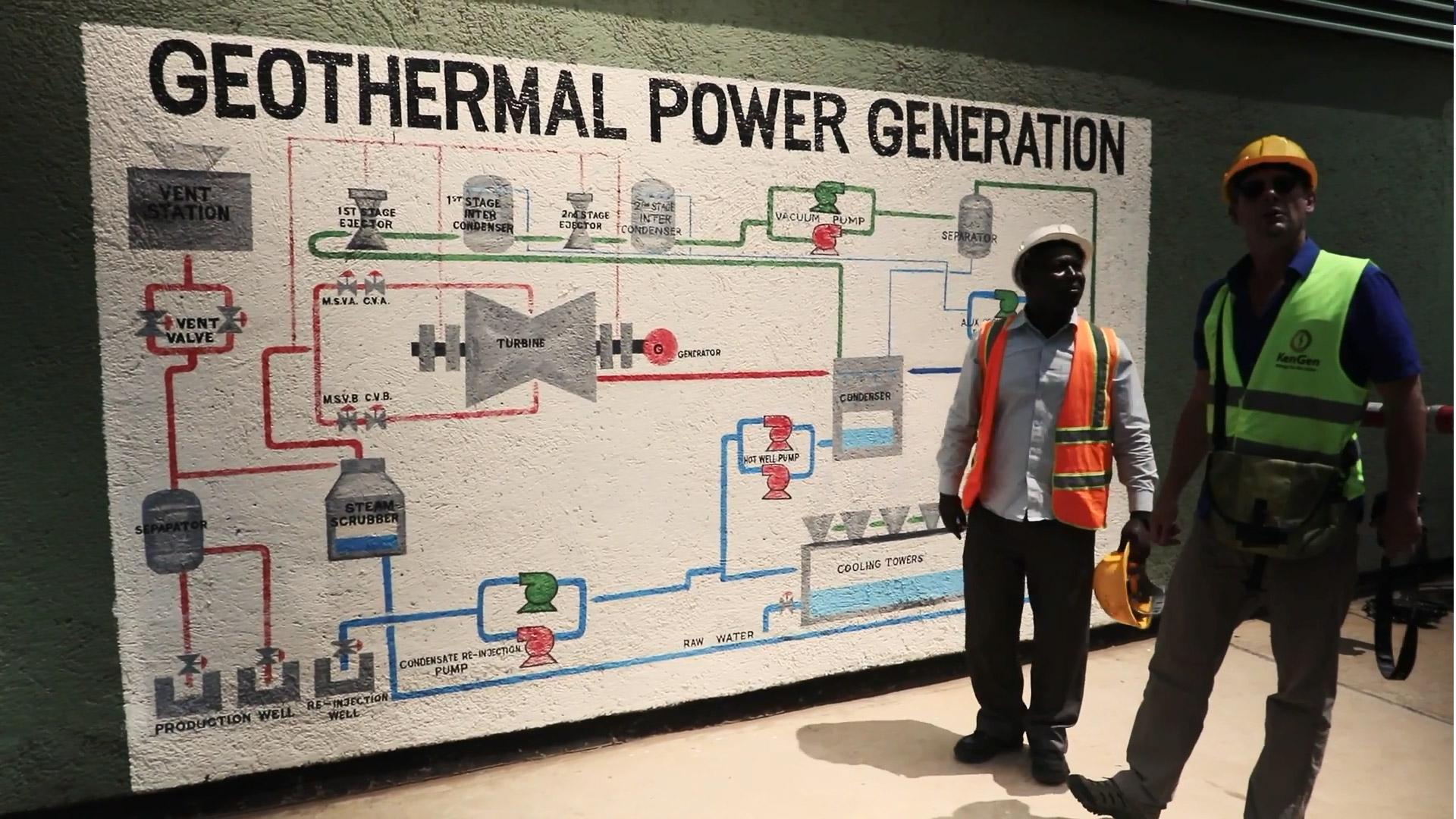 """Standbild aus dem BMZ-Film """"Kenia: Vorreiter bei erneuerbaren Energien"""""""
