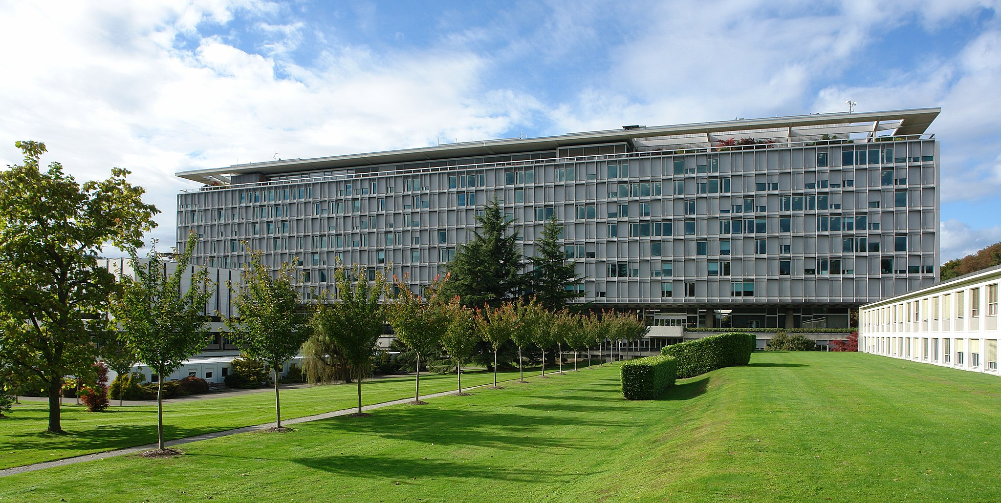 WHO-Gebäude in Genf