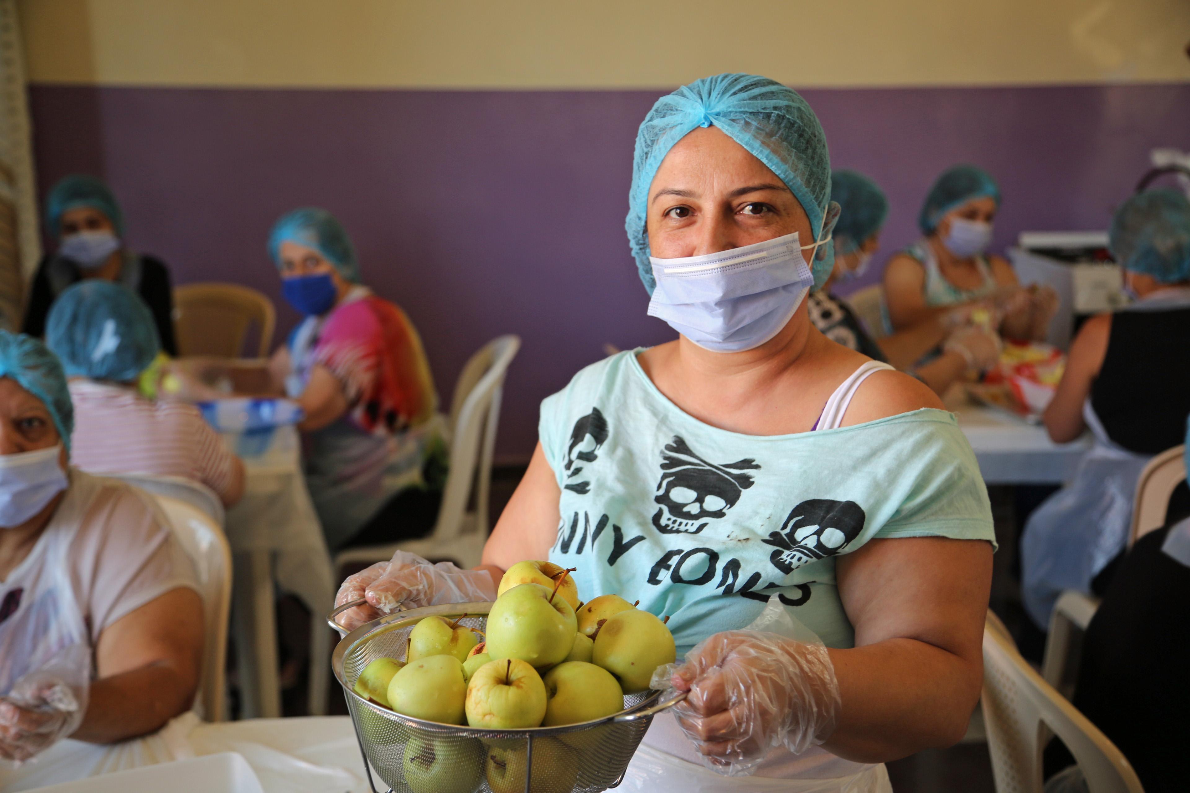 Das vom BMZ unterstützte WFP-Programm zur Resilienzstärkung im Libanon fördert gezielt Frauenkooperativen in der Landwirtschaft.