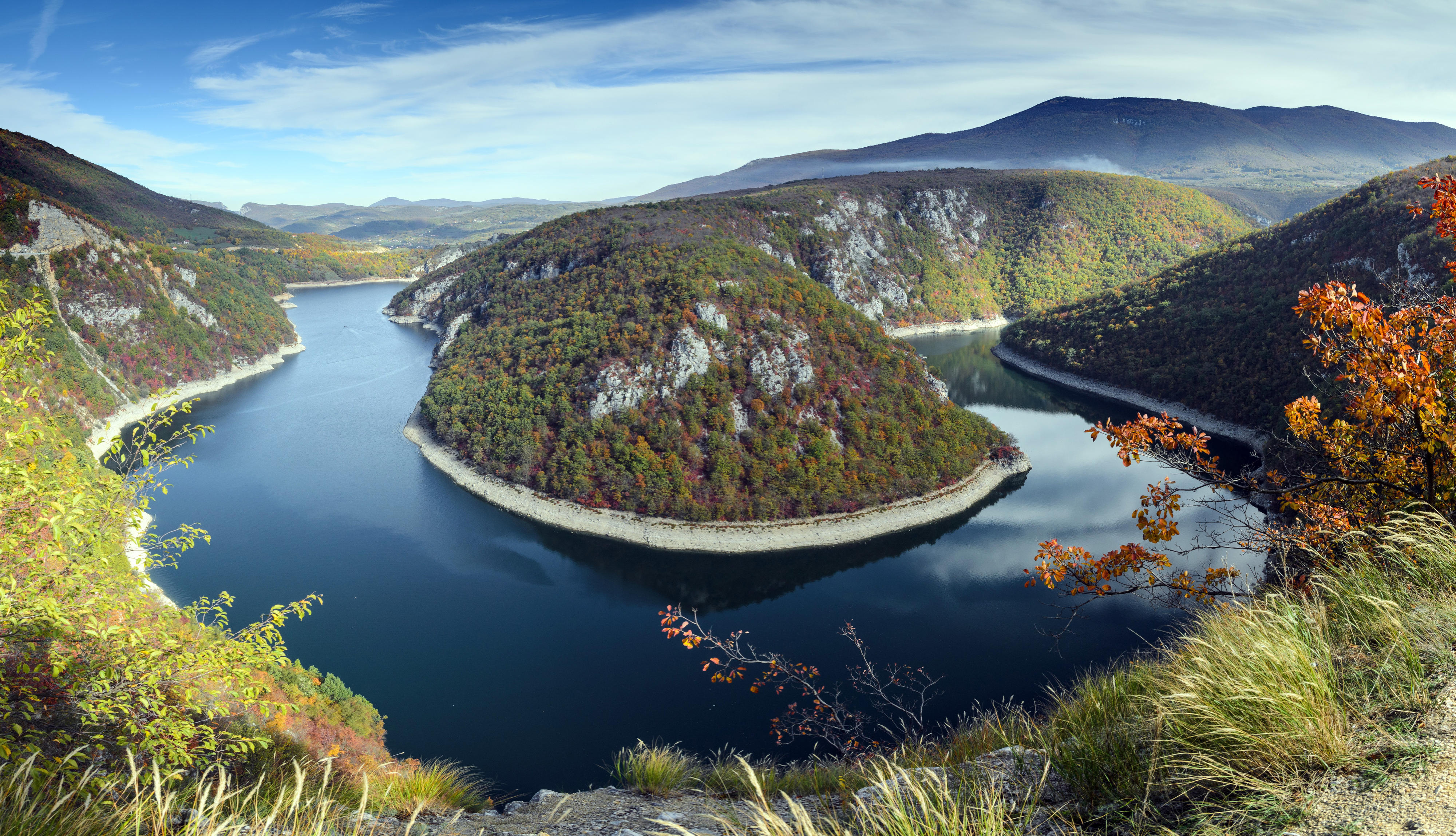 Der Fluss Vrbas