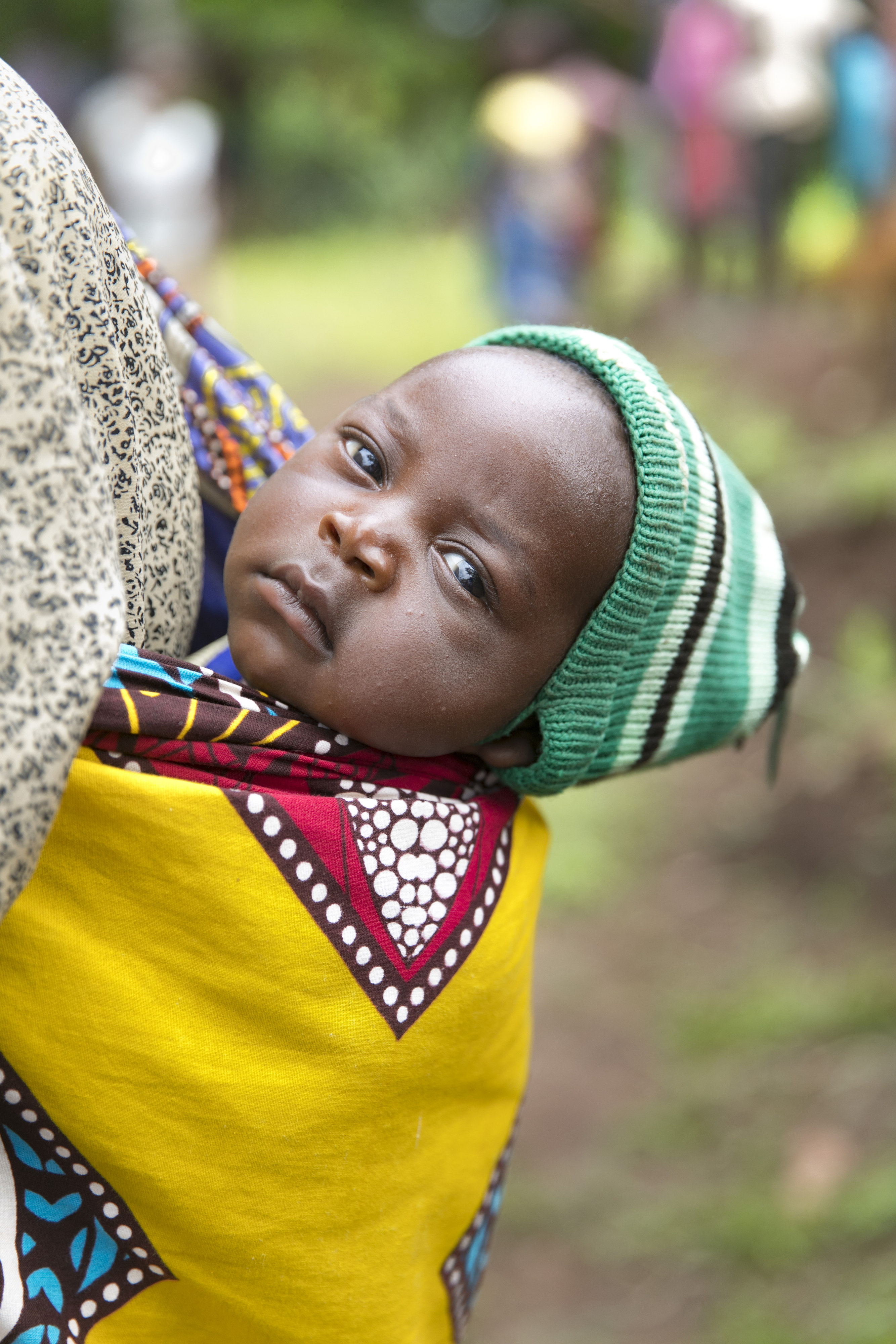 Baby in Malawi