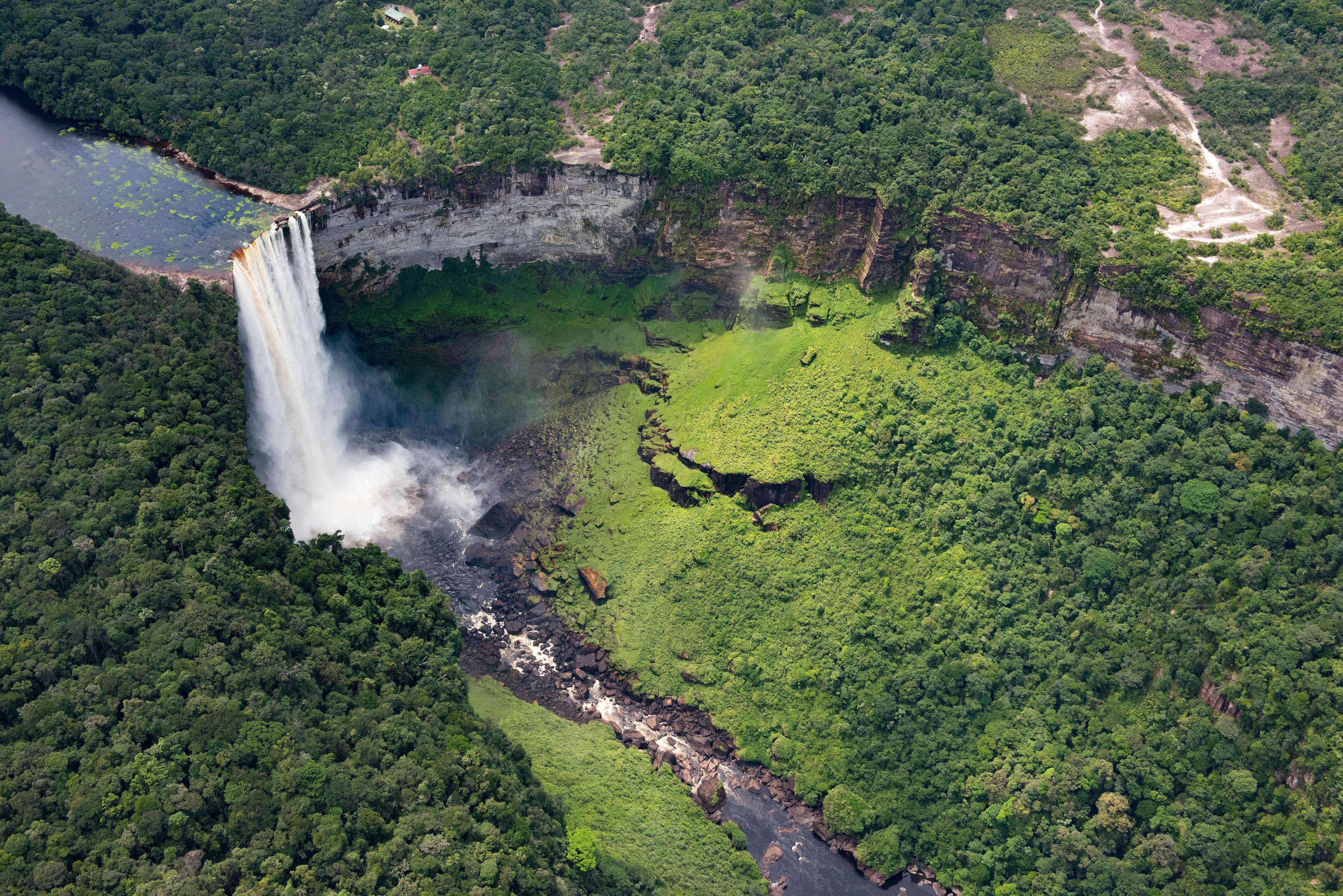 Kaieteur-Wasserfälle in Guyana
