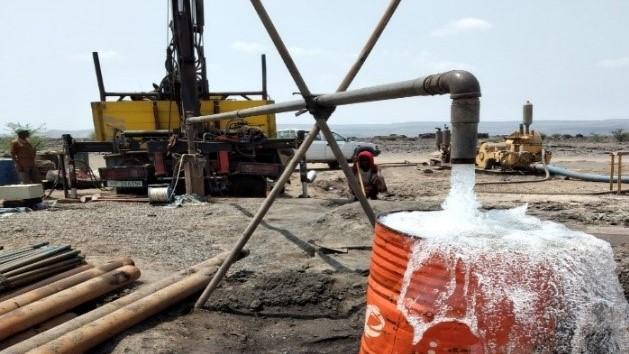 Wasserförderung