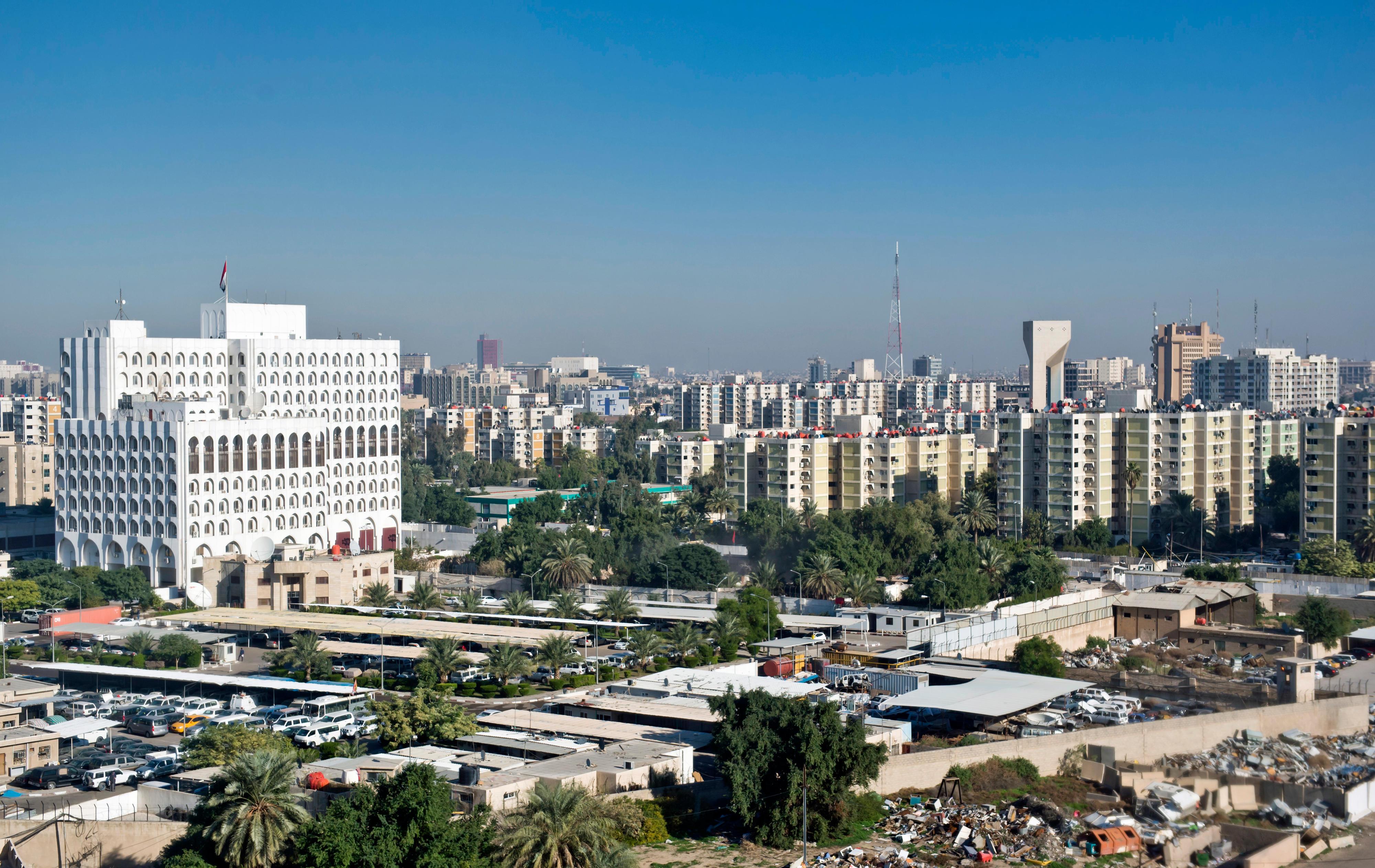 Stadtansicht von Bagdad