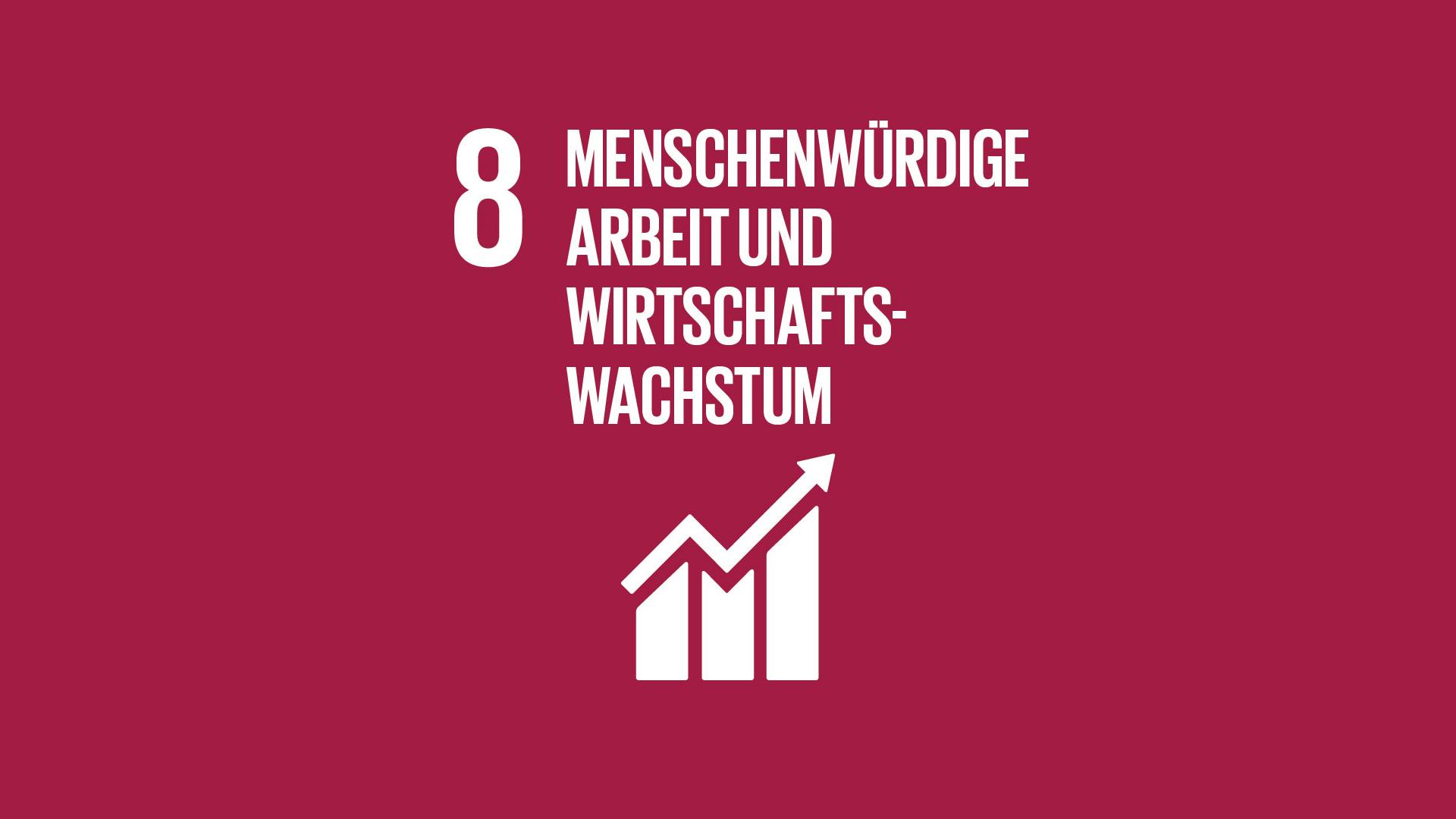 SDG 8: Menschenwürdige Arbeit und Wirtschaftswachstum