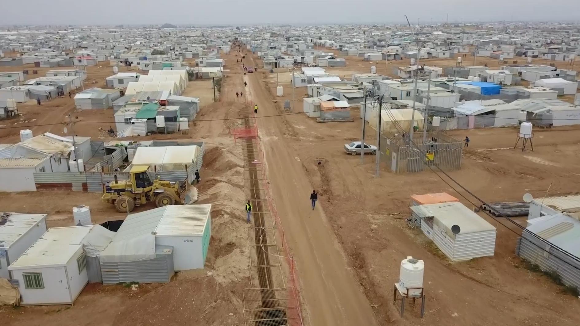 Standbild aus dem Video:Perspektive für Flüchtlinge und Aufnahmegemeinden – die Sonderinitiative Flucht