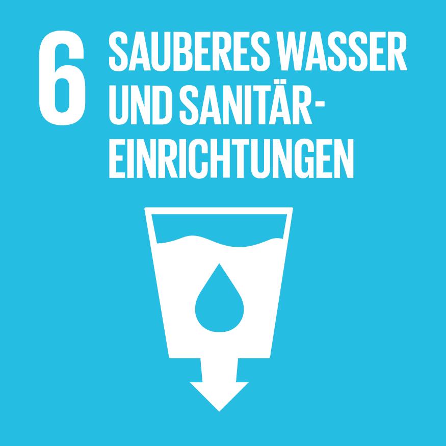 SDG 6: Saubereres Wasser und Sanitäreinrichtungen