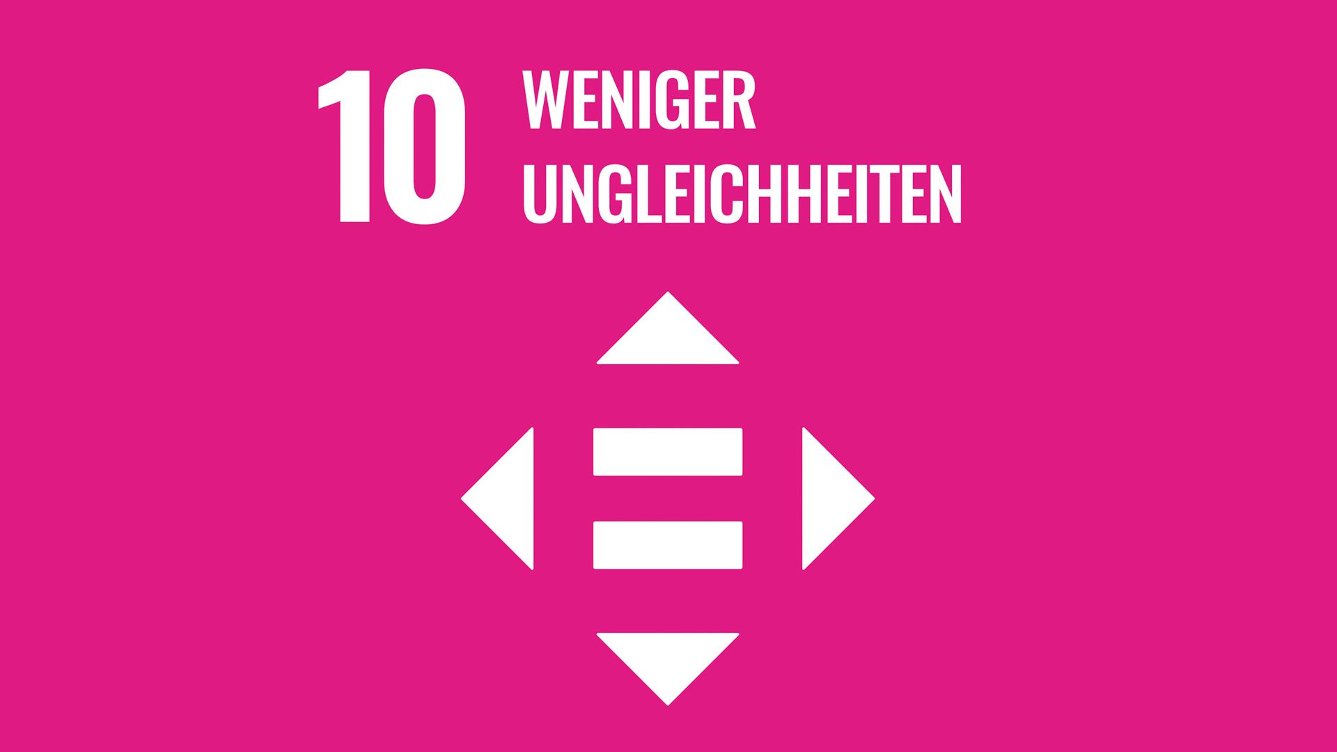 SDG 10: Weniger Ungleichheiten