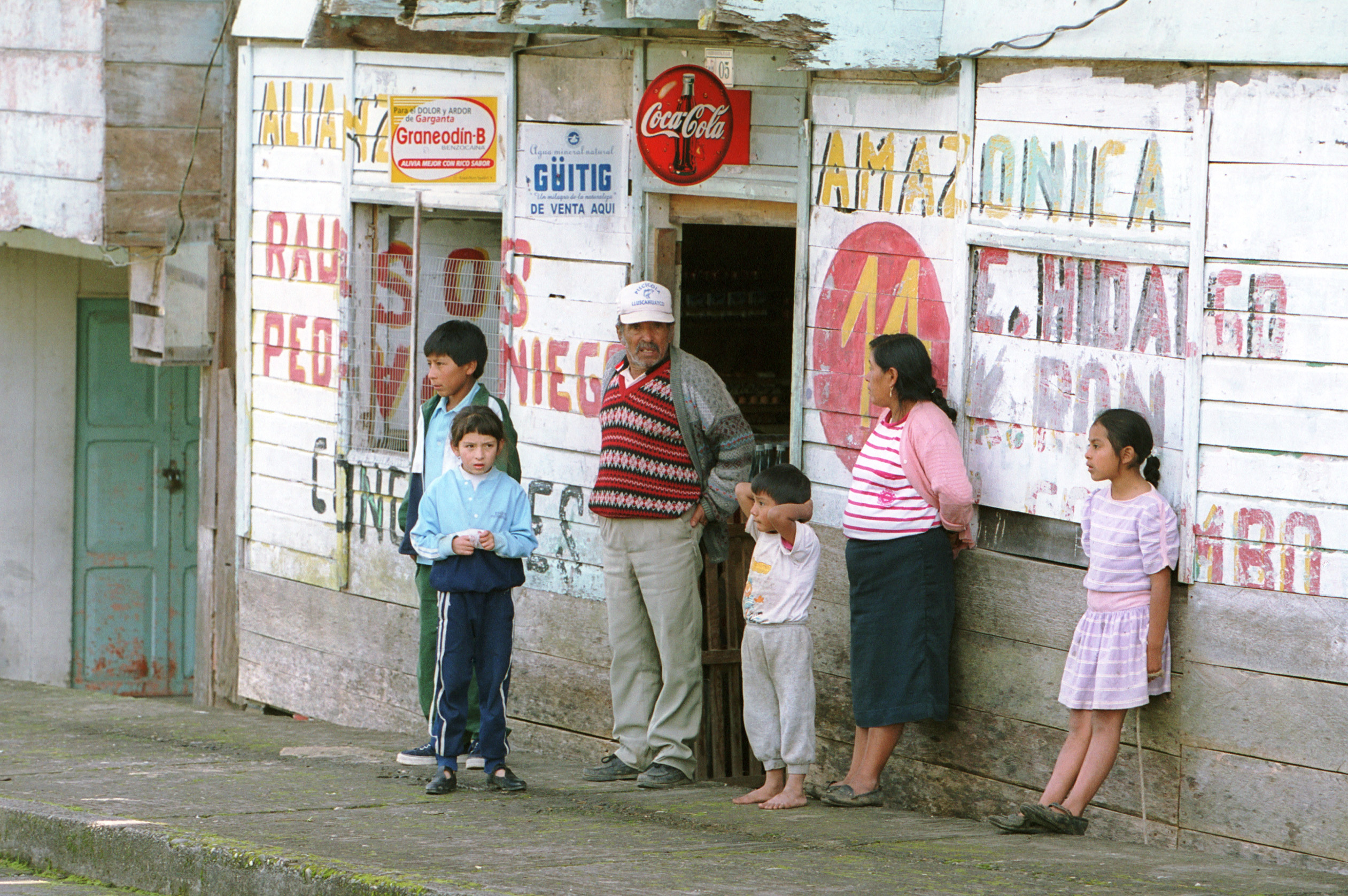 Menschen in Ecuador