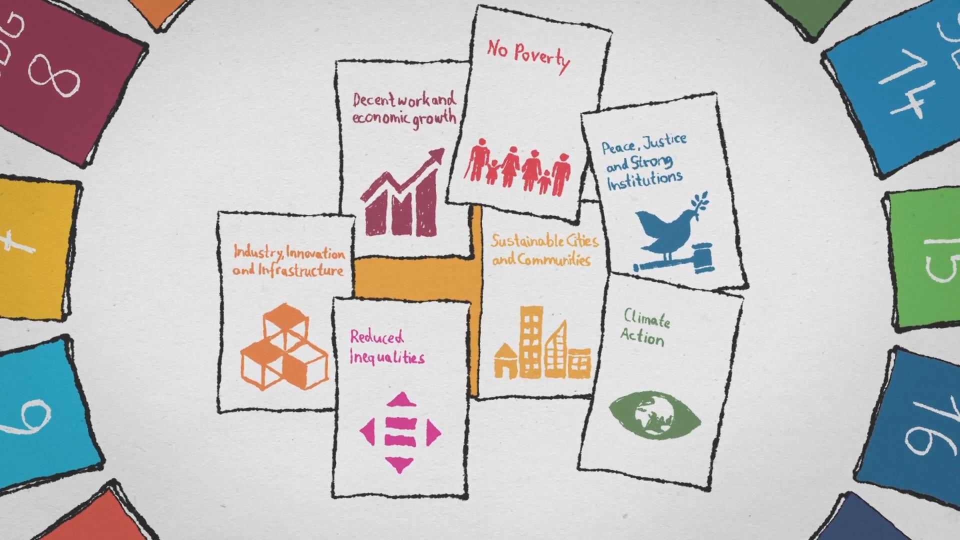 """Standbild aus dem Video """"Agenda 2030 – auf die Städte kommt es an"""""""