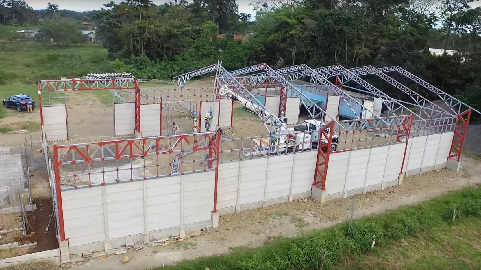 """Standbild aus dem Video """"Kommunale Klimapartnerschaft des Rhein-Pfalz-Kreises mit La Fortuna in Costa Rica"""""""