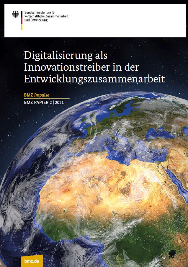 Titelblatt: Digitalisierung als Innovationstreiber in der Entwicklungszusammenarbeit