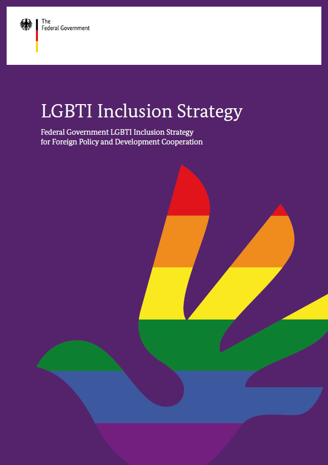 Cover: Federal Government LGBTI Inclusion Strategy for Foreign Policy and Development Cooperation