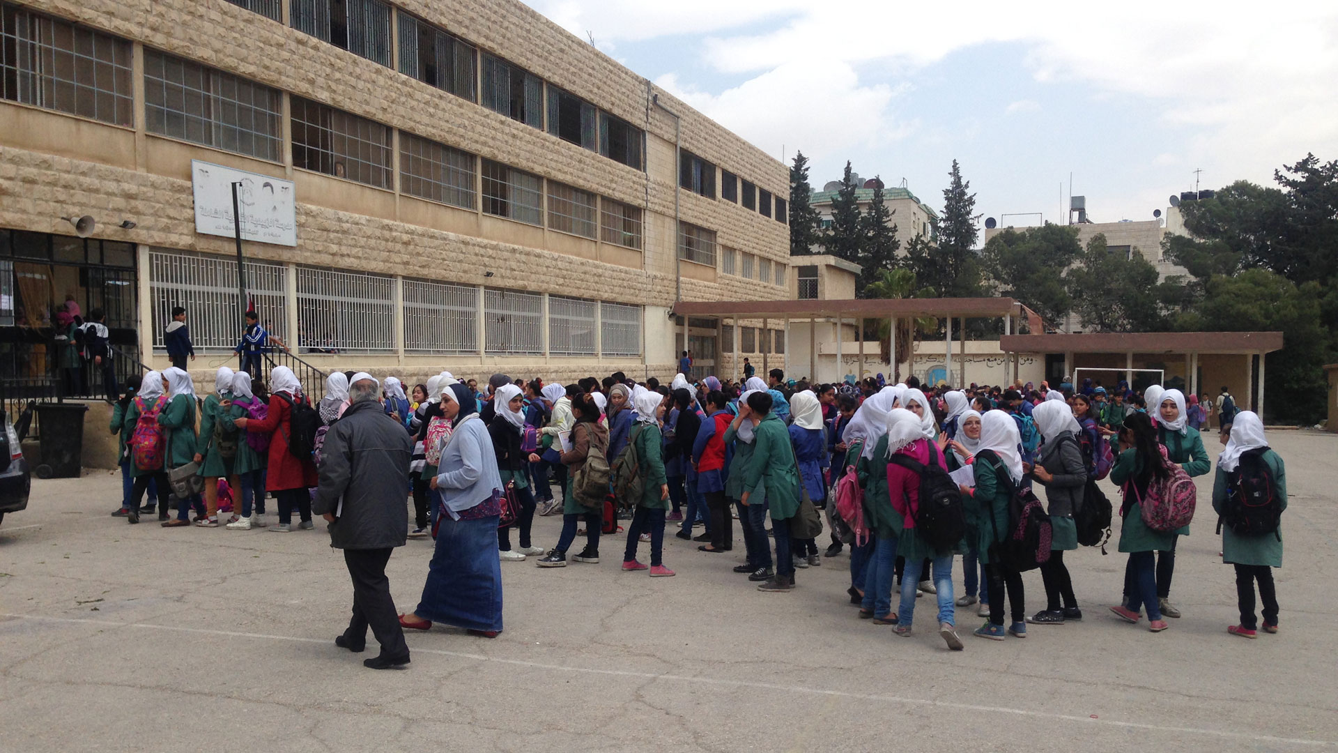 Die Al Quds Schule in Amman, Jordanien
