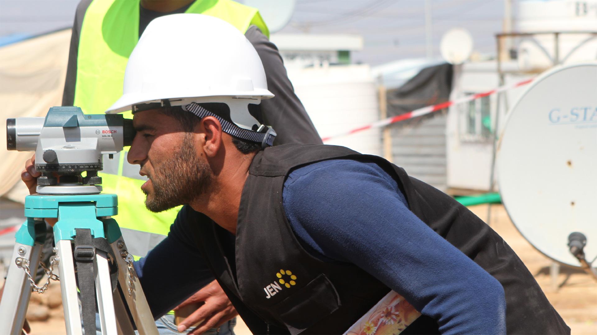 Cash-for-Work-Maßnahme in Jordanien