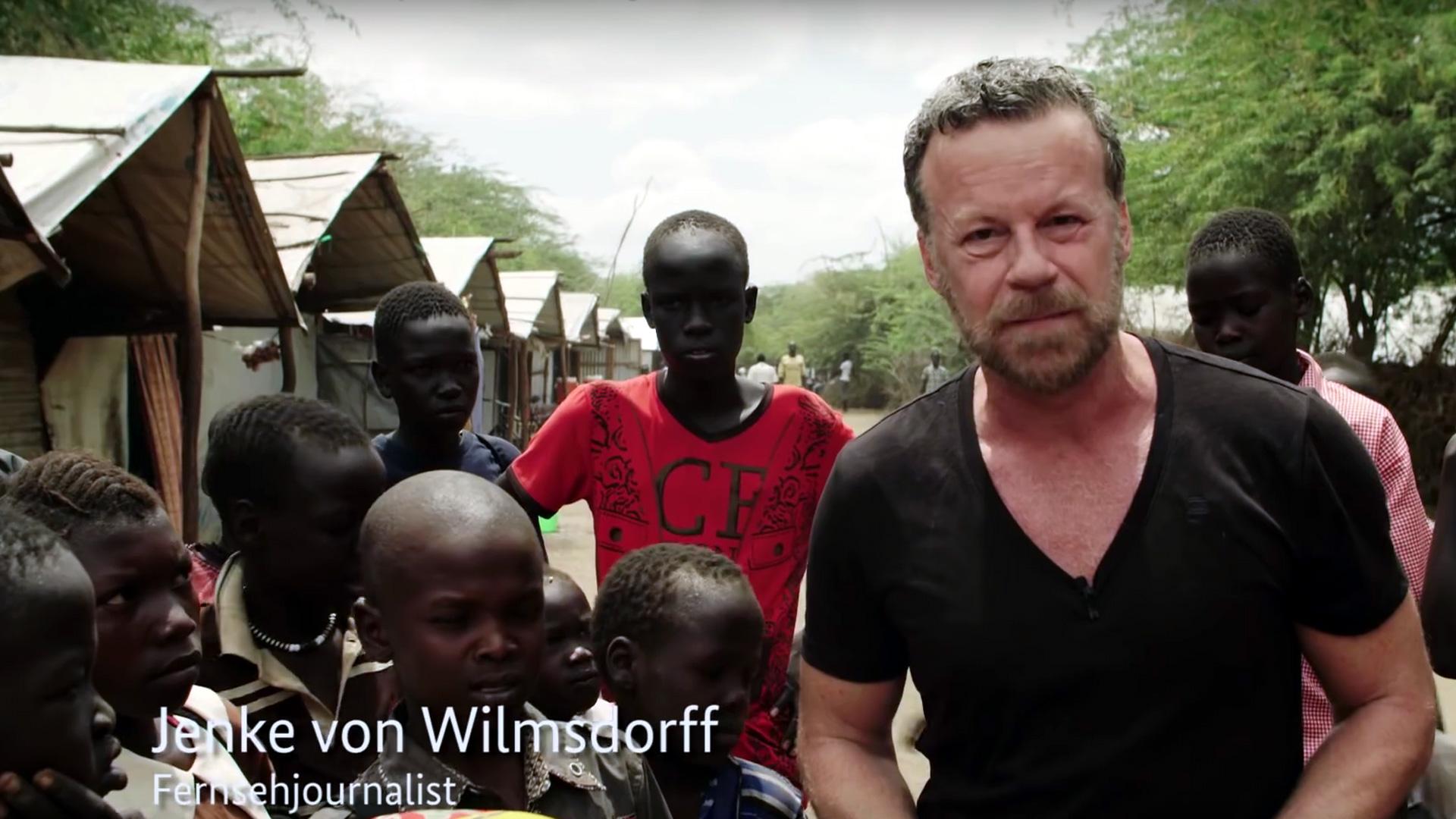 """Standbild aus dem BMZ-Video """"Perspektiven für Flüchtlinge schaffen"""""""