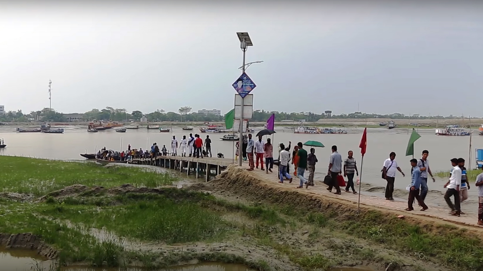 """Standbild aus dem Video """"Bangladesch: Leben mit dem Klimawandel"""""""